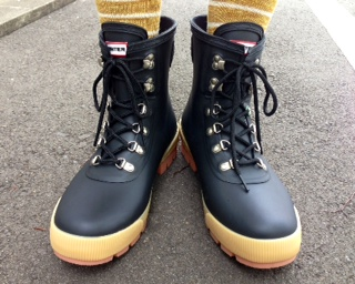 boots hunter black